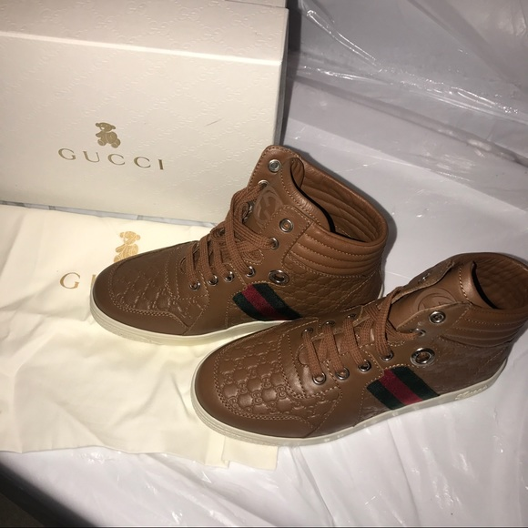 c028f605404 Gucci Shoes | Childrens Boys High Tops 33 Us 2 Sneakers | Poshmark